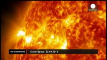 NASA releases footage of solar flare eruption - no comment