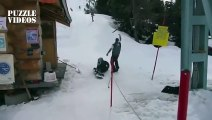 Funny Ski & Snowboard Fails Compilation 2014 - Puzzle Videos
