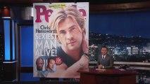 Jimmy Kimmel - Chris Hemsworth - Homme le plus sexy en 2014