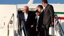 Crowd hails Iranian nuclear negotiators on return to Tehran