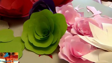 How to make 3d origami basket with flowers model2 - video dailymotion | 240x426