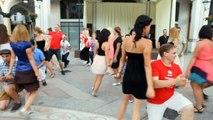 Batumi 2012, Foreigners Are Dancing Georgian Dance - GandaGana