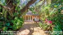 Single Family For Sale: 4121 RAYNOLDS AV Coconut Grove, FL $1599000