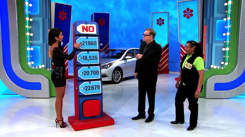 The Price Is Right FAIL - a Model Accidentally Gives Away A Car