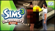 NAKED PARTY! - Sims 3 University Life - EP 5