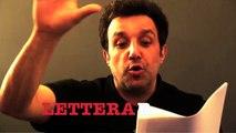 La scalata anzi la discesa di Flavio Insinna con la lettera B