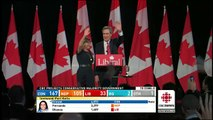 Ignatieff leads Liberals to historic defeat