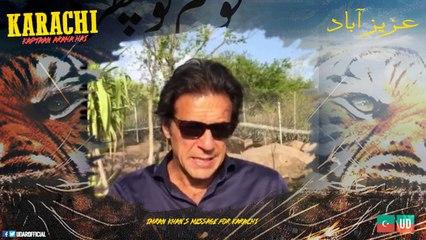 Imran Khan's Exclusive Message For Karachi NA-246