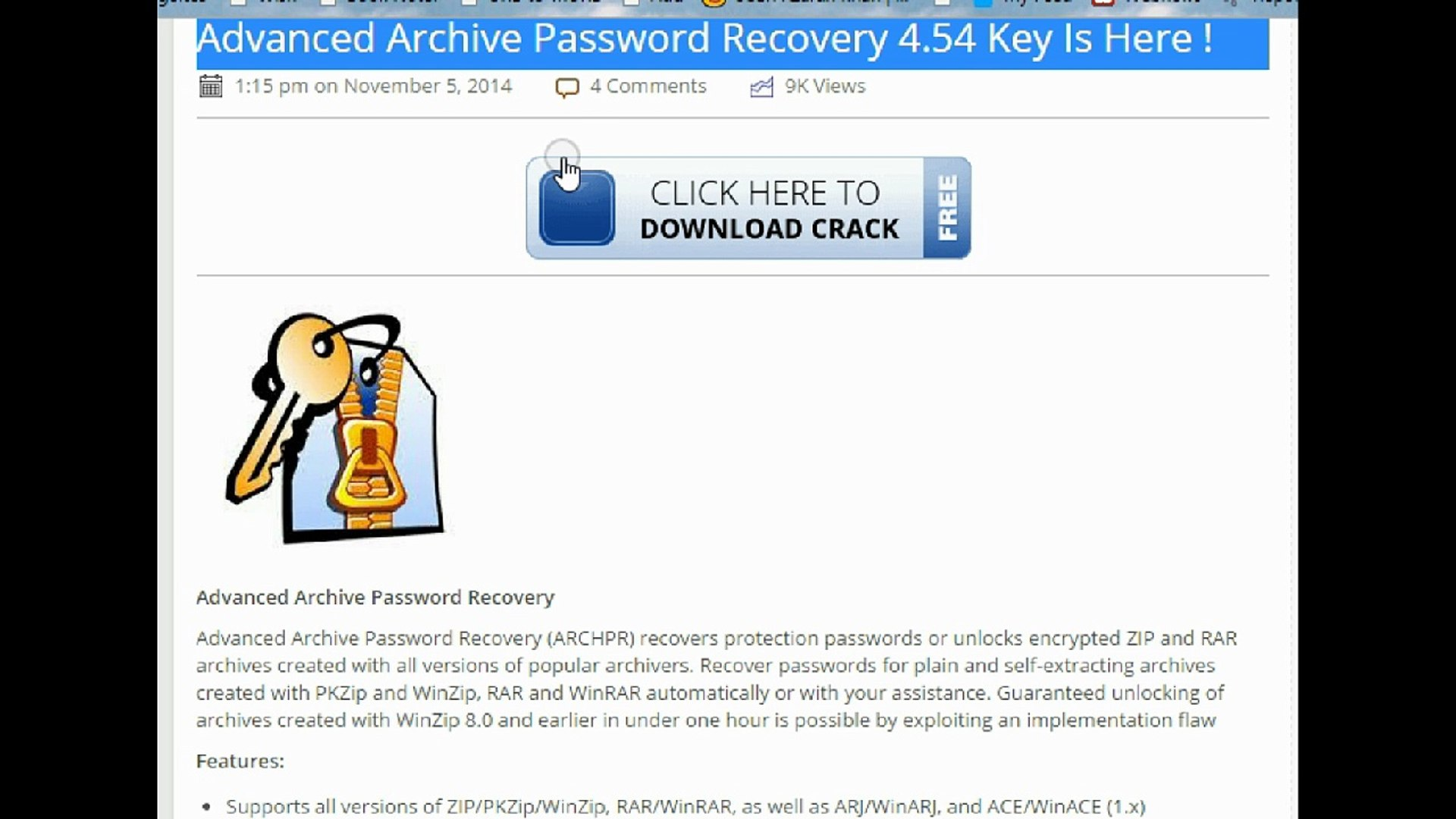 Advanced Archive Password Recovery 4 54 Key Is Here