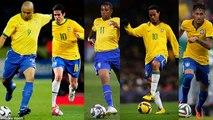 Football are Samba (Brazil) ● Ronaldinho ● Neymar ● Ronaldo ● Robinho ● Kaka