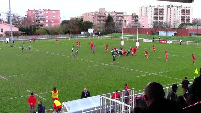 04/04/2015 5ème 6ème place  ELITE  PORTUGAL vs PAYS DE GALLES Partie 1/4
