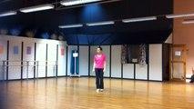 Démonstration de danse japonaise butô