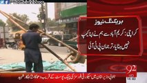 After MQM Supporters Destroyed PTI Karimabad Karachi Camp Remaining Items And Fixtures Are Being Stolen 4 April 2015