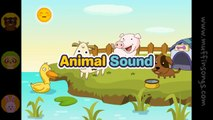 Muffin Songs - Animal Sounds Song nursery rhymes & children songs with lyrics
