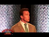 Arnold Schwarzenegger at Conference on Cal's Future