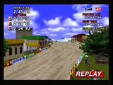 Sega Rally Desert Replay - Lancia Delta -  (Sega Saturn)