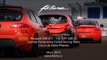 Peugeot 208 GTi - Caillet Racing Team @ Circuit Dijon Prenois ( www.feline.cc )