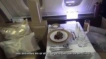 Vol en première classe à 17 500 euros chez Etihad Airways.