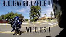 1st Ride On Custom Suzuki GSXR 750, Wheelies, and Drag Races
