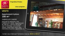 A vendre - appartement - FABREGUES (34690) - 6 pièces - 180m²