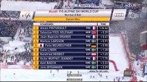 Alpin, 2nde manche slalom H, Finales de la CdM à Méribel, 22 mars 2015 (Alexis Pinturault 4e)