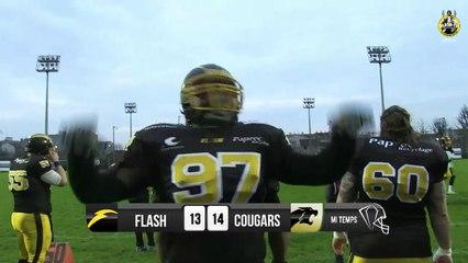 FLASH vs COUGARS 2015 2e mi-temps