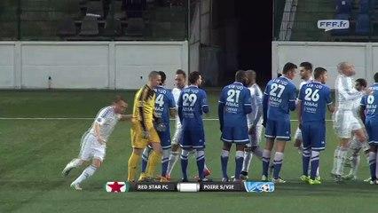 Red Star FC 0 - 0 Le Poiré Sur Vie (03-04-2015)