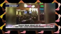 Ratchet Blacks Fight Brawl At Casino In Queens New York City NYC Fat Tuesday Black Men