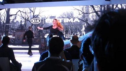 2016 KIA OPTIMA REVEAL at NYC 2015 Auto Show