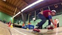 Roller acrobatique au CPB - 08-12-2014