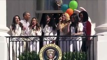 Fifth Harmony_ Happy birthday to 'Let's Move' at the White House Easter Egg Roll - LoneWolf Sager