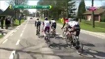 Tour de Flandes: Jesse Sergent fue embestido por un auto (VIDEO)