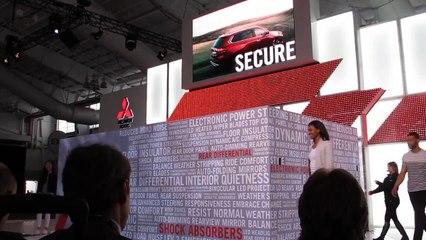 NYC Auto Show -- 2016 Mitsubishi Outlander Reveal --Bob Giles NewCarNews.TV