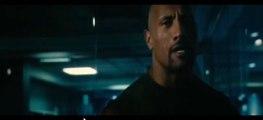 La Roca vs Jason Statham en Rapido y Furiosos 7 Español Latino | The Rock vs Jason Statham in Fast and Furious 7