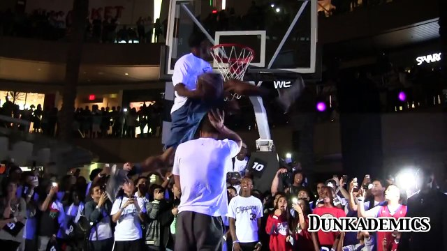"""Blake Griffin Dunked OVER By 5'11"""" Young Hollywood"""