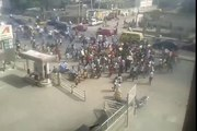 Youth Protesting Against Fuel Subsidy Removal