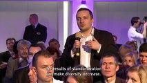 Citizens' Dialogue in  Kosice, Slovakia - Maroš Šefčovič -European Debate