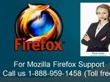 1-888-959-1458 Firefox keeps not responding -keeps going black