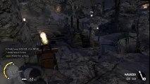 Le joli tir d'un sniper explose les testicules d'un ennemi dans le jeu vidéo Sniper Elite 3