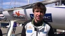 6 avril 2015 - Maxime Paul, designer des voiles de StMichel-Virbac revient sur ces 4 jours de course
