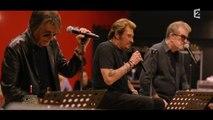 """Johnny Hallyday, Eddy Mitchel et Jacques Dutronc chantent """"Vieille Canaille"""""""