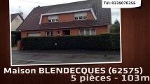 A vendre - BLENDECQUES (62575) - 5 pièces - 103m²