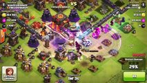 Clash of Clans with andy - High level attack Strategy at Champion League