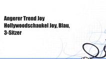 Angerer Trend Joy Hollywoodschaukel Joy, Blau, 3-Sitzer