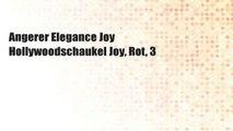 Angerer Elegance Joy Hollywoodschaukel Joy, Rot, 3