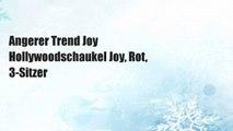 Angerer Trend Joy Hollywoodschaukel Joy, Rot, 3-Sitzer