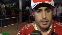 Declaraciones Fernando alonso Abu Dhabi 2010