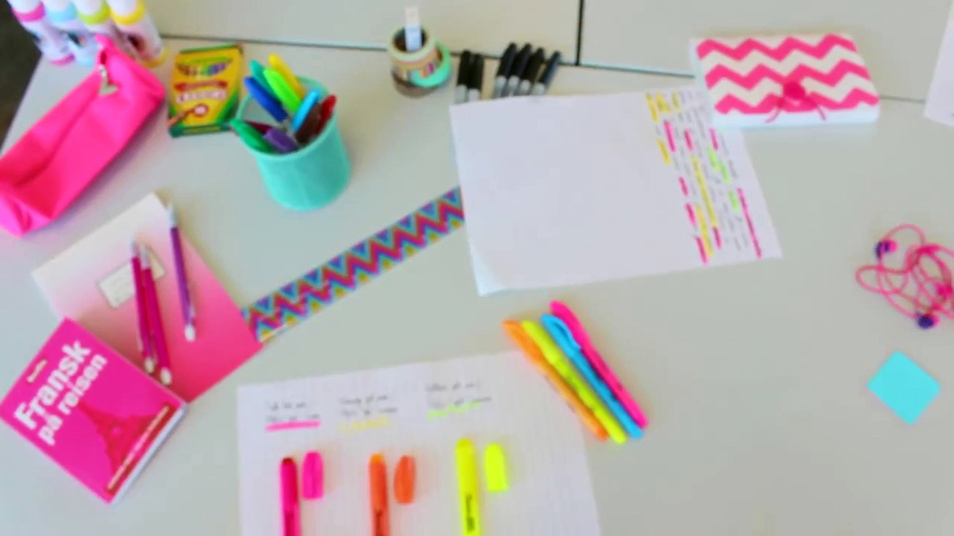 Back to school: Study tips + Organization tips!