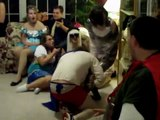 Saran Mummy Wrap Game