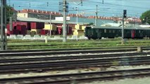 Onboard ÖBB Austrian Federal Railways City Shuttle. Vienna, Austria to Bratislava, Slovakia